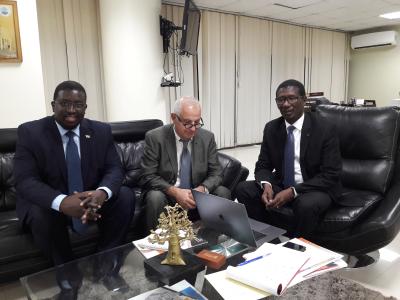 Rencontre au ministère enseignement supérieur Sénégal